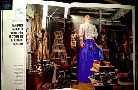"Article dans GEO Magazine - 2013  <span class=""st"">©</span>"